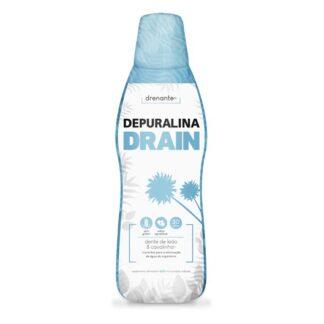 Depuralina Drainer 600ml é um Suplemento Alimentar à base de: Bétula, Cavalinha, Orthosiphon e Dente de Leão.