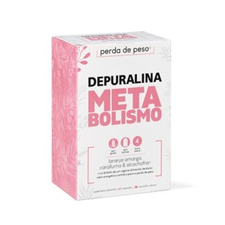 Depuralina MetaBolismo 60 Cápsulas contém Alcachofra que no âmbito de um regime alimentar de baixo valor energético contribui para a perda de peso.