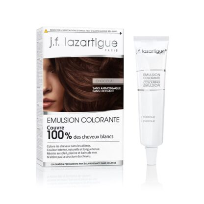 J.F Lazartigue Emulsão de Coloração Chocolate 60ml
