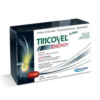 Tricovel Energy Hemem 30 Comprimidos, especificamente concebido para fornecer aos folículos capilares a quantidade certa d
