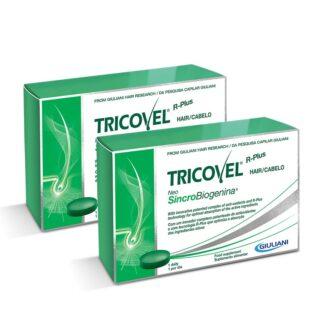 Tricovel Neo SincroBiogenina 2x30 Comprimidos, a formulação única e rica de comprimidos Tricovel com NeoSincroBiogenina combina: