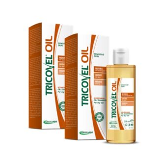 Tricovel Oil Champô Duo Nutritivo Cabelo Seco 200ml