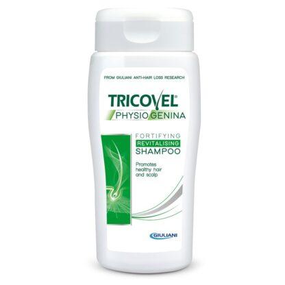 Tricovel Physiogenina Champô Fortificante 200ml, está indicado para cabelo fraco e quebradiço com tendência a cair.