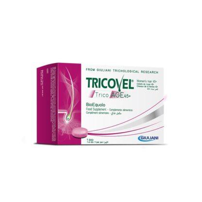 Tricovel TricoAge 45+ BioEquolo 30 Comprimidos