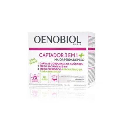 Oenobiol Captador 3em1 + Plus 60 Cápsulas