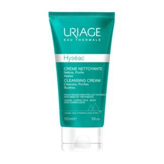 Uriage Hyseac Creme de Limpeza 150ml,creme de limpeza purifica com suavidade limitando o excesso de sebo e devolvendo