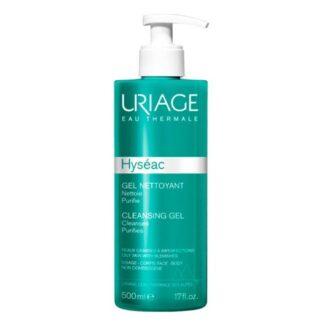 Hyseac Gel de limpeza elimina as impurezas e excesso de sebo, respeitando perfeitamente a epiderme
