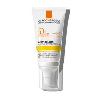 La Roche Posay Anthelios Anti Imperfections SPF50+ 50ml, proteção solar muito elevada de rosto, para pele com tendência acneica