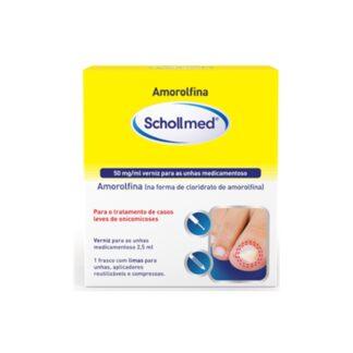 Schollmed Amorolfina Verniz e Lima