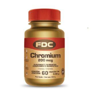 O FDC Chromium possui 200mcg de crómio por cápsula e contribui para o normal metabolismo dos macronutrientes e para a manutenção de níveis normais de glicose no sangue.