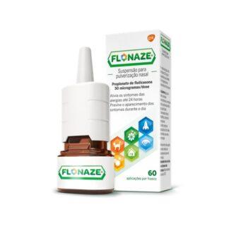 Flonaze Suspensão Pulverização Nasal 60 Doses para o tratamento dos sintomas da rinite alérgica provocada por febre dos fenos ou outros alergéneos.