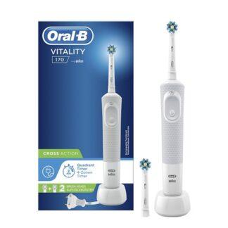 Oral-B Vitality 170 CrossAction Escova de Dentes Elétrica Branca