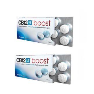 CB12 Boost Pastilhas Elastica S/Acucar 2x10 Pastilhas