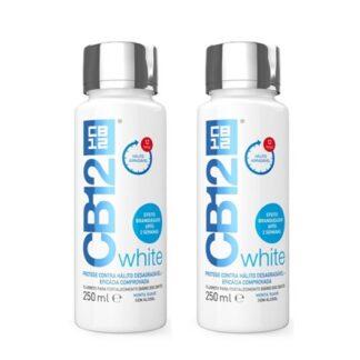 CB12 White Menta Suave Solução Bucal 2x250ml
