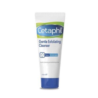 Cetaphil Esfoliante Facial Suave 178ml, esfoliante de rostro que ajuda a renovar e a suavizar a pele, eliminando as células mortas e outras impurezas da pele.