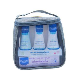 hydra-bebé leite corporal,Água de limpeza e o creme muda fralda, em práticos formatos de viagem