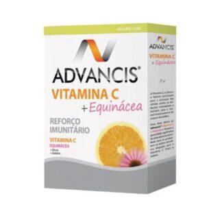 Advancis Vitamina C + Equinácea 30 Compimidos,ajuda certamente a aumentar as resistências e a reforçar as defesas do organismo face a constipações e outras afeções próprias do inverno. Bem como todas as situações de fraqueza ao longo do ano.