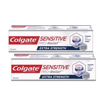 Colgate Sensitive Pro-Alívio Extra Forte 2x75ml,ponha a sensibilidade dentária de lado com Colgate® Sensitive Pro-Alívio Extra Forte