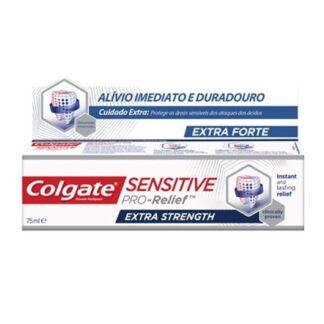 Colgate Sensitive Pro-Alívio Extra Forte 75ml,ponha a sensibilidade dentária de lado com Colgate® Sensitive Pro-Alívio Extra Forte.