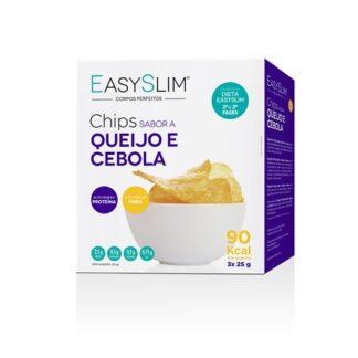 EasySlim Chips Queijo e Cebola 25gr