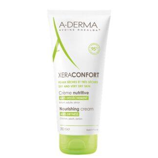 A-Derma XeraConfort Creme Nutritivo 200ml, oCreme Nutritivo ANTISSECURA XERACONFORT é o cuidado diário para as peles secas e muito secas.