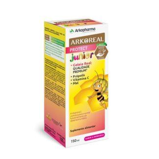 Arkoreal Protect Júnior Xarope 150ml , uma marca pioneira, obteve o 1º e único selo de apicultura responsável,