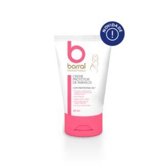 Barral Mother Protect Creme Protetor de Mamilos 40ml, produto desenvolvido especificamente para a pele das grávidas e recém-mamãs. Para proteção, reparação e regeneração natural do mamilo.