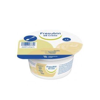 Fresubin DB Creme Baunilha 4x125gestá indicado para os utentes com disfagia e diabetes mellitus ou outras alterações no metabolismo da glicose. Suplemento semi-sólido, sob a forma de pudim.