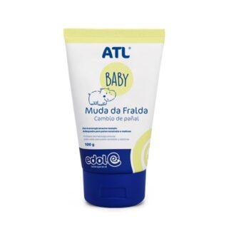 ATL Baby Muda da fralda está indicado na prevenção das assaduras da pele desde o nascimento.