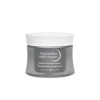 Bioderma Pigmentbio Night Renewer 50ml creme indicado para reduzir as manchas e revelar a luminosidade original da tez.