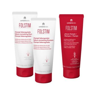 Folstim Champô Sebo Regulador 2x200ml - Oferta Folstim Physio 200ml