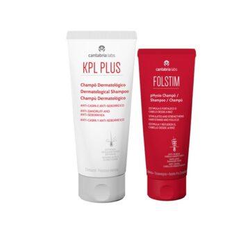 KPL Plus Champô Anti-Caspa 200ml - Oferta Folstim Physio 200ml, higiene do cabelo e couro cabeludo seborreico e pruriginoso, com rápido alívio do prurido e eritema e controlo da descamação.