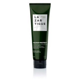 Lazartigue Condicionador Colour Protect 150ml, condicionador proteção de cor. Este cuidado pós-lavagem vegan preserva a cor e prolonga o brilho do cabelo pintado.