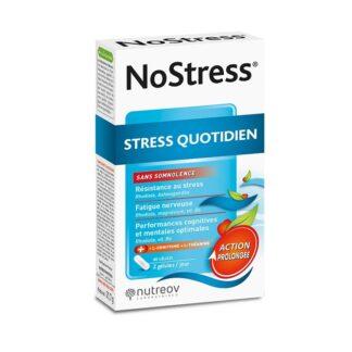 NoStress é um suplemento alimentar que contém extratos de plantas que permitem gerir melhor o stress