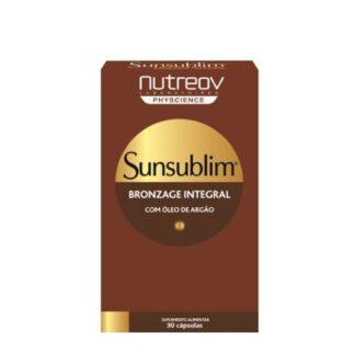 Nutreov Sunsublim Bronzeado Integral 30 Cápsulas, a investigação dos laboratórios NUTREOV PHYSCIENCE enriqueceu a fórmula do SUNSUBLIM® Bronzeado Integral