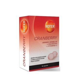 Roter Cranberry 30 Cápsulas, suplemento alimentar formulado com arando vermelho, equinácea e vitamina C indicado para manter as vias urinárias saudáveis e estimular as defesas naturais graças à equinácea.