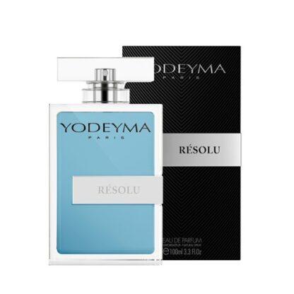 Yodeyma Homem Résolu 100 ml, O aroma suave da flor de laranjeira e o equilíbrio aromático do gengibre e da sálvia fazem um perfume audaz perfeito para seduzir.