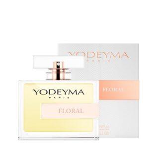 Yodeyma Mulher Floral 100 ml, a relaxante mistura da flor de linho com a baunilha e a frescura da bergamota, fazem que este perfume tenha uma presença limpa. Aporta serenidade e elegância.