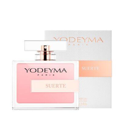 Yodeyma Mulher Suerte 100 ml, a sensualidade das notas olfativas que compõem este perfume tornam quem o leva posto numa mulher irresistível e voluptuosa