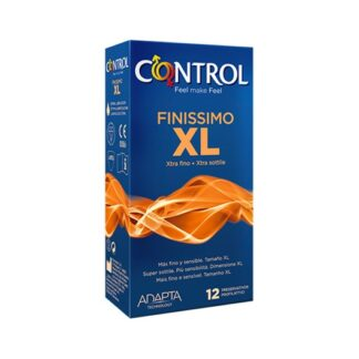 Control Finíssimo XL 12 Preservativos é dedicado a quem deseja a máxima sensibilidade e conforto durante a relação. Extra fino, mais largo e mais comprido em relação aos outros modelos da gama Control, permite desfrutar do prazer em grande.