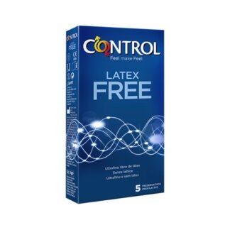 Control Latex Free 5 Preservativos quando se trata de prazer, cada um tem as suas exigências: Latex Free é pensado para quem não pode usar preservativos de látex comuns.