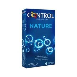 Control Nature 12 Preservativos, para quem procura um prazer natural na relação, Nature é o preservativo ideal. A sua forma ergonómica garante uma grande adaptabilidade e um conforto perfeito para uma intimidade ainda mais espontânea.