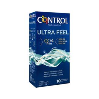 Control Ultra Feel 10 Preservativos quando as sensações são especiais, não queremos perder nem uma. Com menos 30% de espessura do que outros modelos da gama Control, Ultra Feel é o preservativo mais fino da gama e permite viver intensamente todos os momentos de prazer.