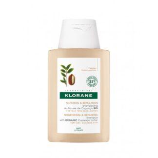 Klorane Champô Manteiga Cupuaçu Bio 200ml champô para cabelos muito secos e danificados.