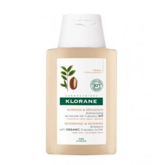 Klorane Champô Manteiga Cupuaçu Bio 400ml champô para cabelos muito secos e danificados.