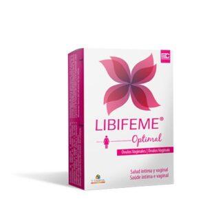 Libifeme Optimal 5 Óvulos vaginais especialmente desenvolvidos para as mulheres com desconforto vaginal (prurido e ardor).