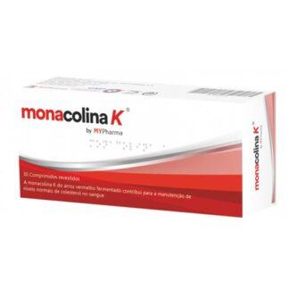 Monacolina K 30 Comprimidos suplemento alimentar À base de levedura de arroz vermelho.