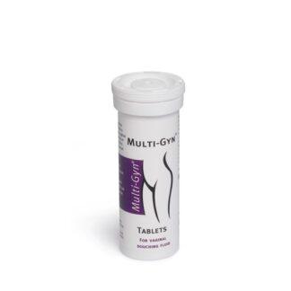 Multi-Gyn 10 Pastilhas que criam um líquido de duche natural e suave para uma ótima higiene vaginal.