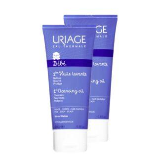 Uriage Bebé Primeiro Creme Lavante 2x200ml, agradavelmente perfumado, deixa a pele perfeitamente limpa, suave e hidratada. Recomendado e utilizado em maternidades.