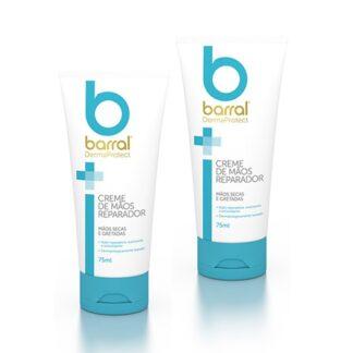 Barral Dermaprotect Creme de Mãos 2x75ml, creme de rápida absorção, que repara a pele em profundidade.